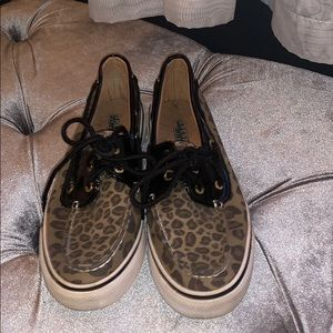 Sperry Cheetah Boat shoe